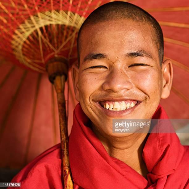 Novice Buddhist monk, Myanmar