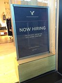 Now Hiring At American Eagle Outfitters Taken on October 30 2014 in Las Vegas Nevada