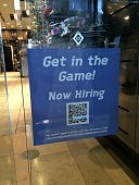 Now Hiring At LIDS Taken on October 30 2014 in Las Vegas Nevada