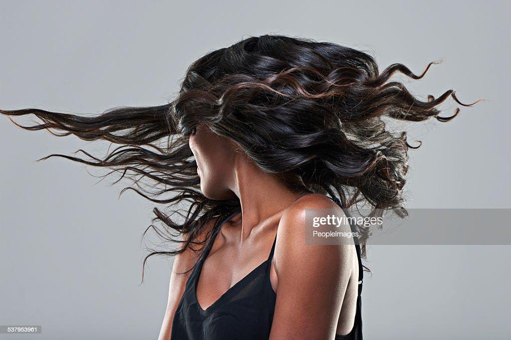 Si tratta di un taglio di capelli! : Foto stock