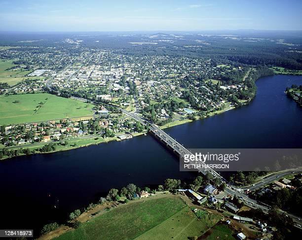 nowra, nsw, australia (aerial)