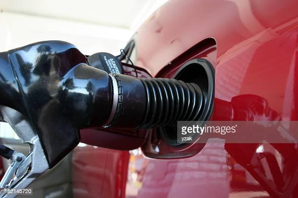 Pompe à essence et de la voiture