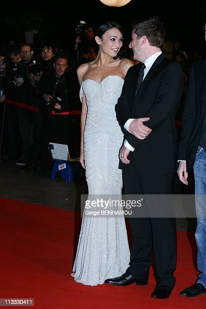Nrj Music Awards In Cannes France On January 26 2008 Miss France Valerie Begue and a friend