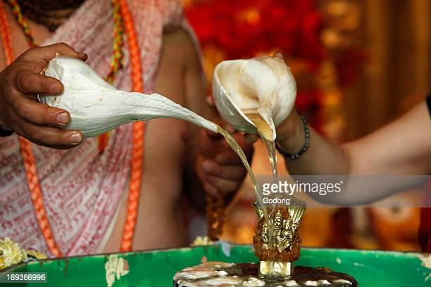 Nrsimha Caturdasi festival celebration in ISKCON temple
