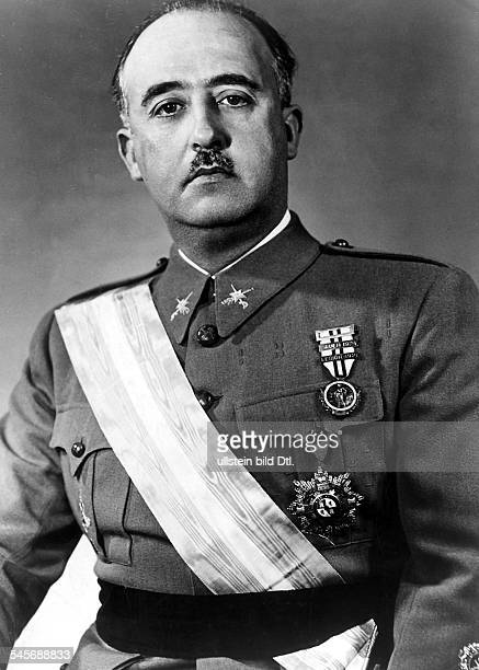 FRANCISCO FRANCO /nSpanish soldier and dictator Photographed in 1936