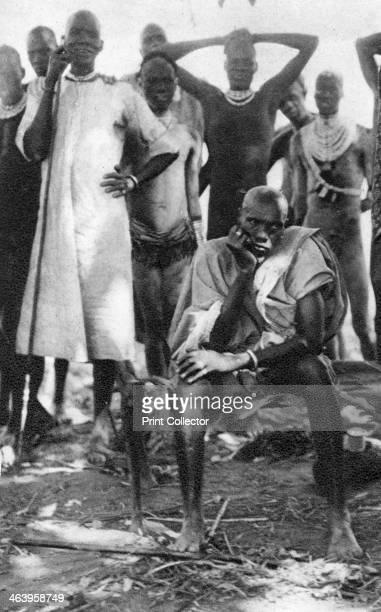 Nuan Atojian the Bahr el Arab Sudan 1925 A print from Cape to Cairo by Stella Court Treatt George G Harrap Company Ltd 1927 The book was an account...
