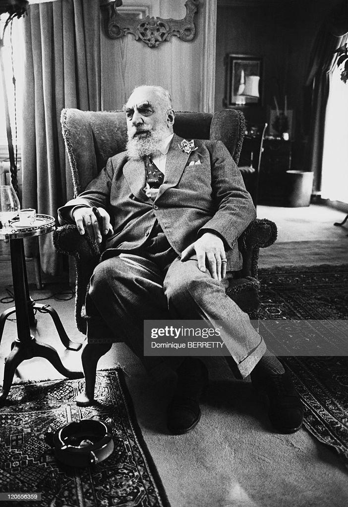 Nubar Sarkis Gulbenkian, a Turkish-Born Armenian petroleum magnate and socialist.