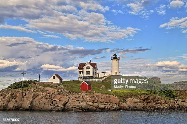 Nubble lighthouse in York maine
