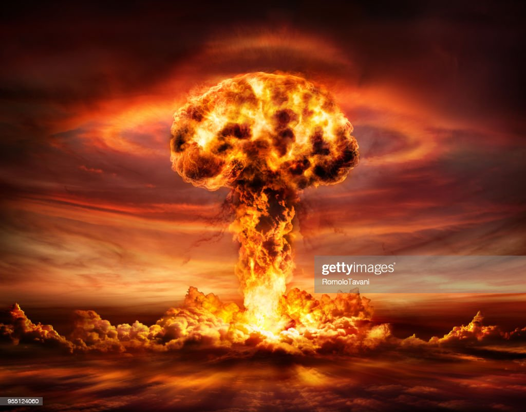 Pictures of nuclear bomb explosions