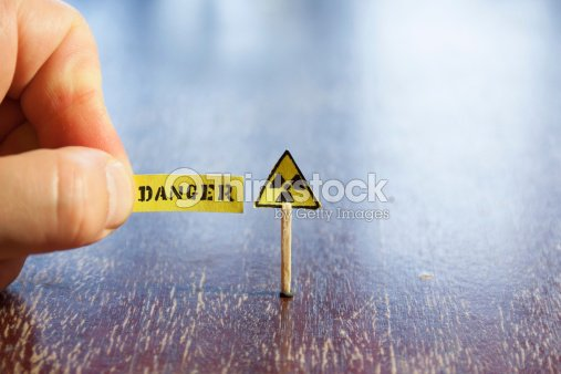 Nuclear Danger Warning Stock Photo | Thinkstock