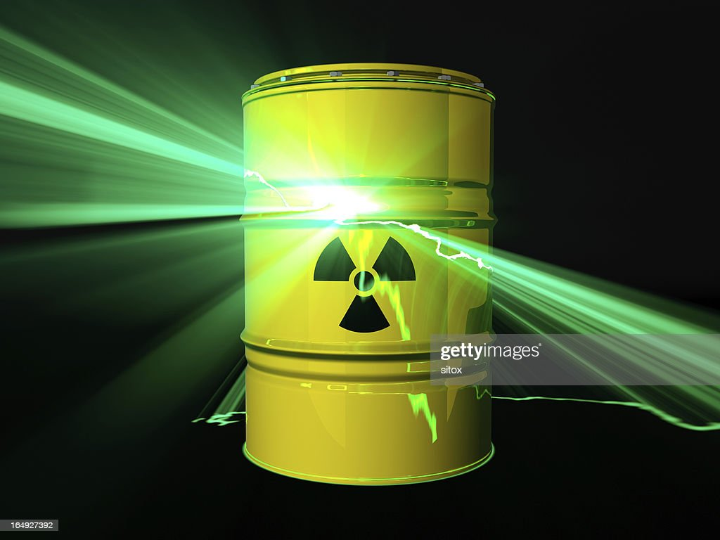 Nuclear disaster concept