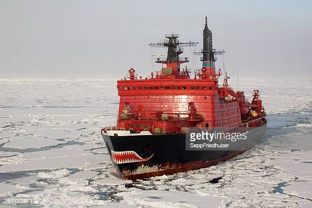 Nuclear ice breaker heading to the North pole
