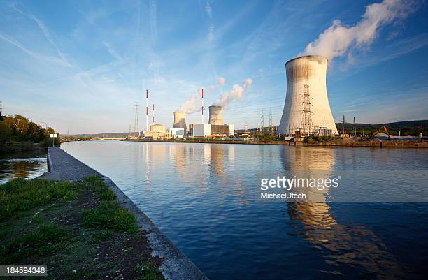 Nuclear Power Station At River