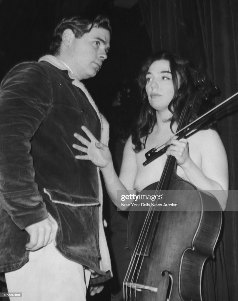 Female cello players 1967 topless performance paved the