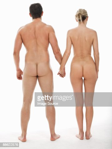 Girls holding hands naked