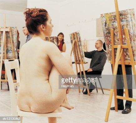 art nude pose student