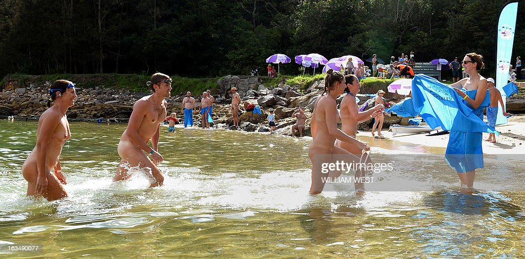 Remarkable, rather Mass nudist events