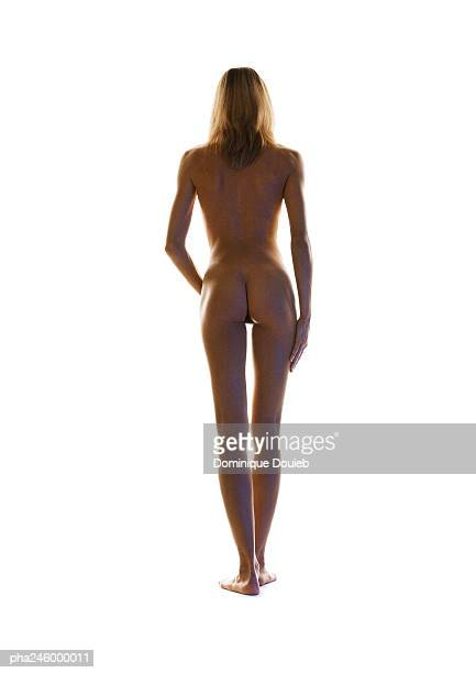 Nude woman, rear view