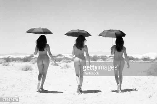 Nude Woman Walking 75