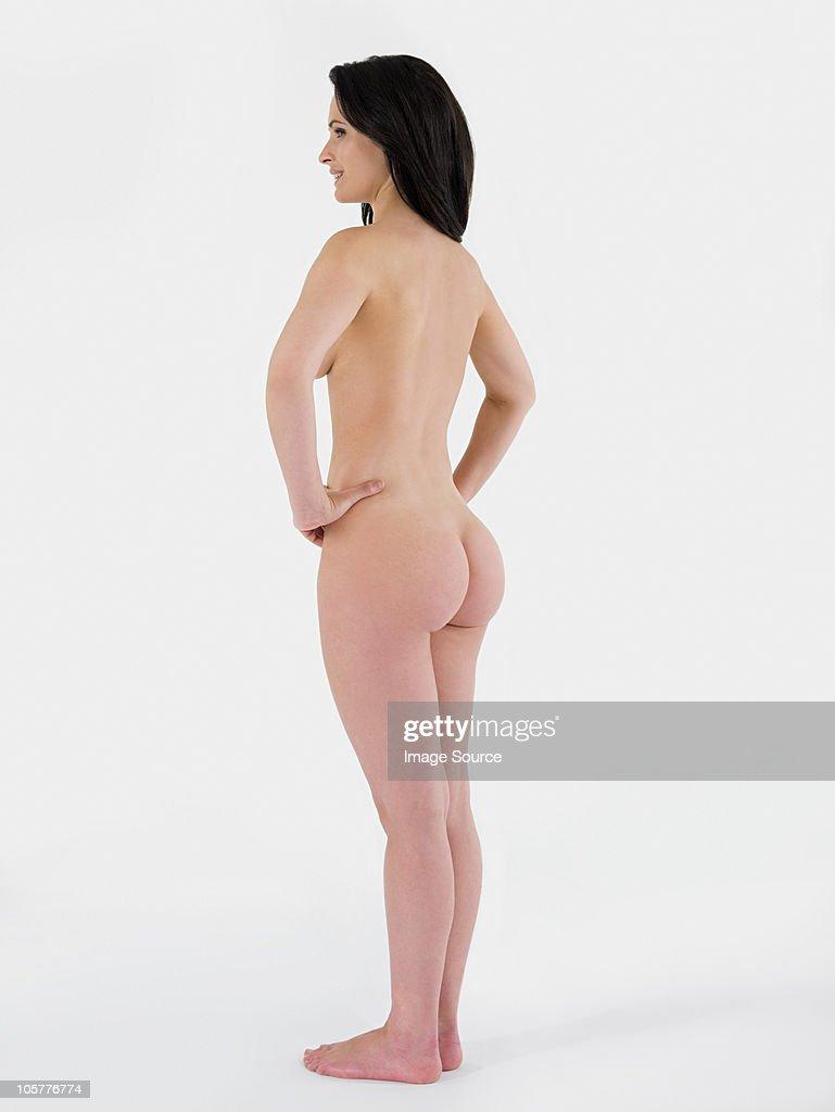 rear Nude woman