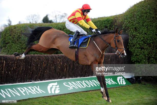 Nudge And Nurdle ridden by jockey David England during the Facilitas Property Services Handicap Chase