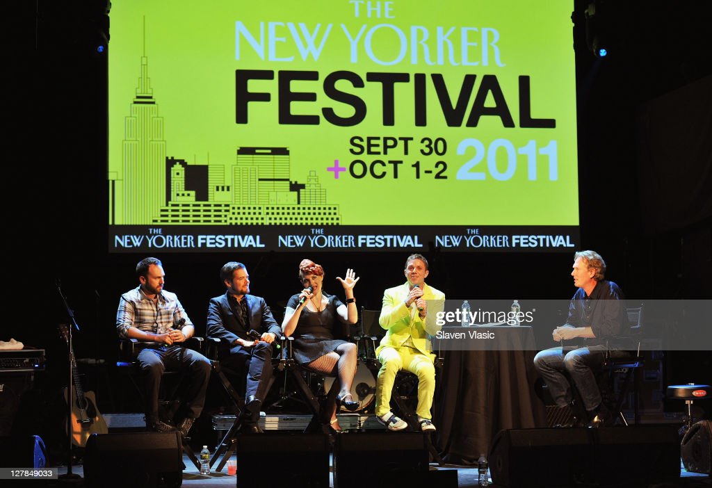 The 2011 New Yorker Festival: In Conversation With Scissor Sisters