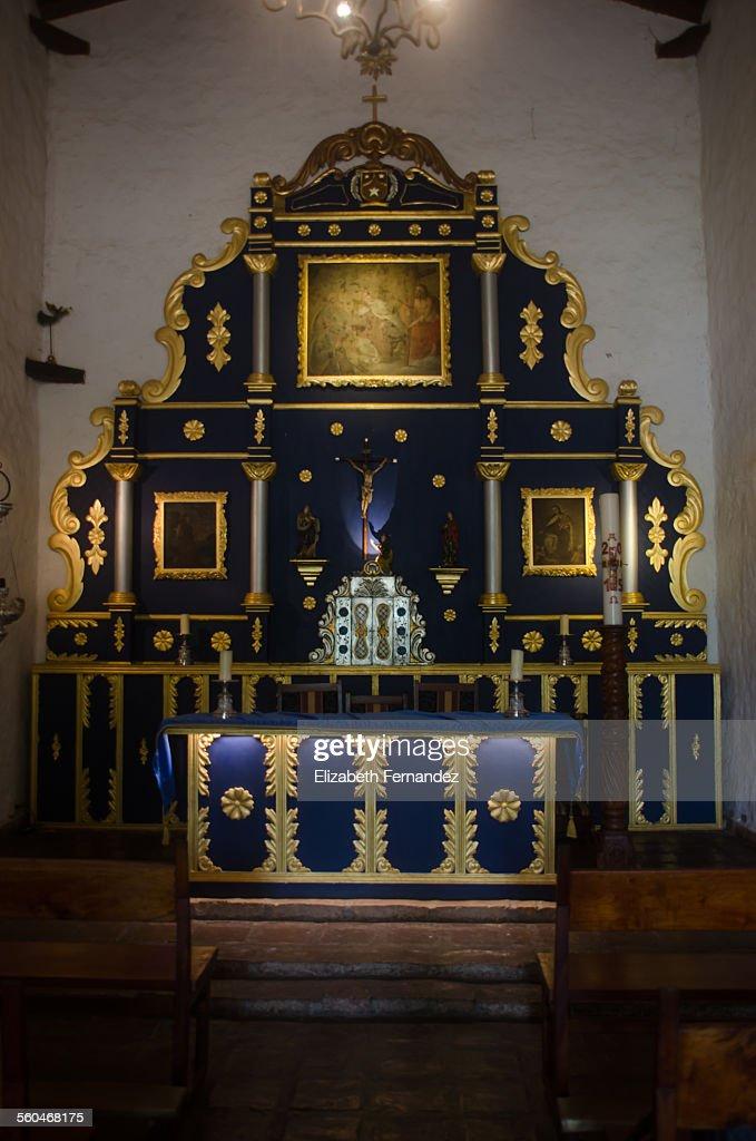 Nuestra Señora del Carmen Chapel's altar