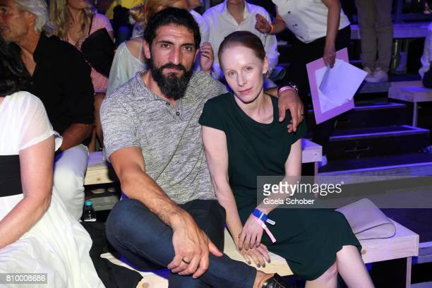 Numan Acar and Susanne Wuest during the 50th anniversary celebration of Marc O'Polo at its headquarters on July 6 2017 in Stephanskirchen near...