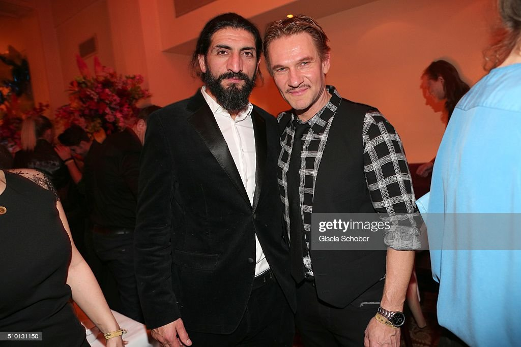 Numan Acar and Thure Riefenstein during the Bild 'Place to B' Party at Borchardt during the 66th Berlinale International Film Festival Berlin on February 13, 2016 in Berlin, Germany.