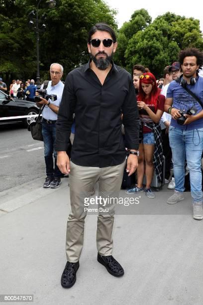 Numan Acar arrives at the Dior Homme Menswear Spring/Summer 2018 show as part of Paris Fashion Week on June 24 2017 in Paris France