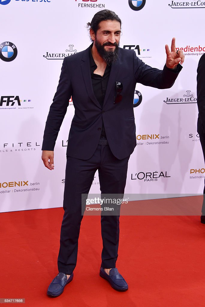 Numan Acar attends the Lola - German Film Award (Deutscher Filmpreis) on May 27, 2016 in Berlin, Germany.