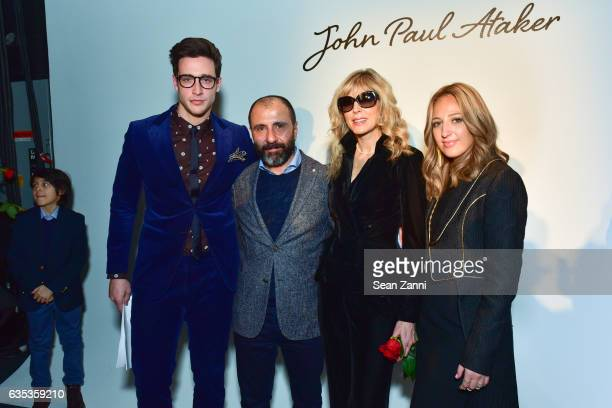 Numan Ataker Marla Maples and Freida Rothman at the John Paul Ataker Show featuring Freida Rothman Jewelry during New York Fashion Week at Pier 59...