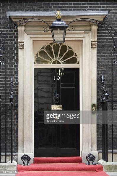 Number 10 Downing Street official home of the British Prime Minister London United Kingdom