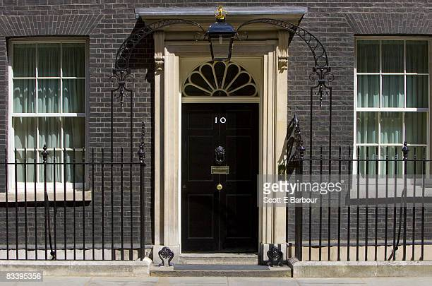 Number 10 Downing Street.