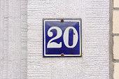 House number twenty (20)