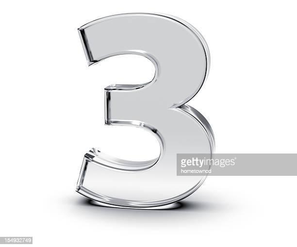 数字の 3