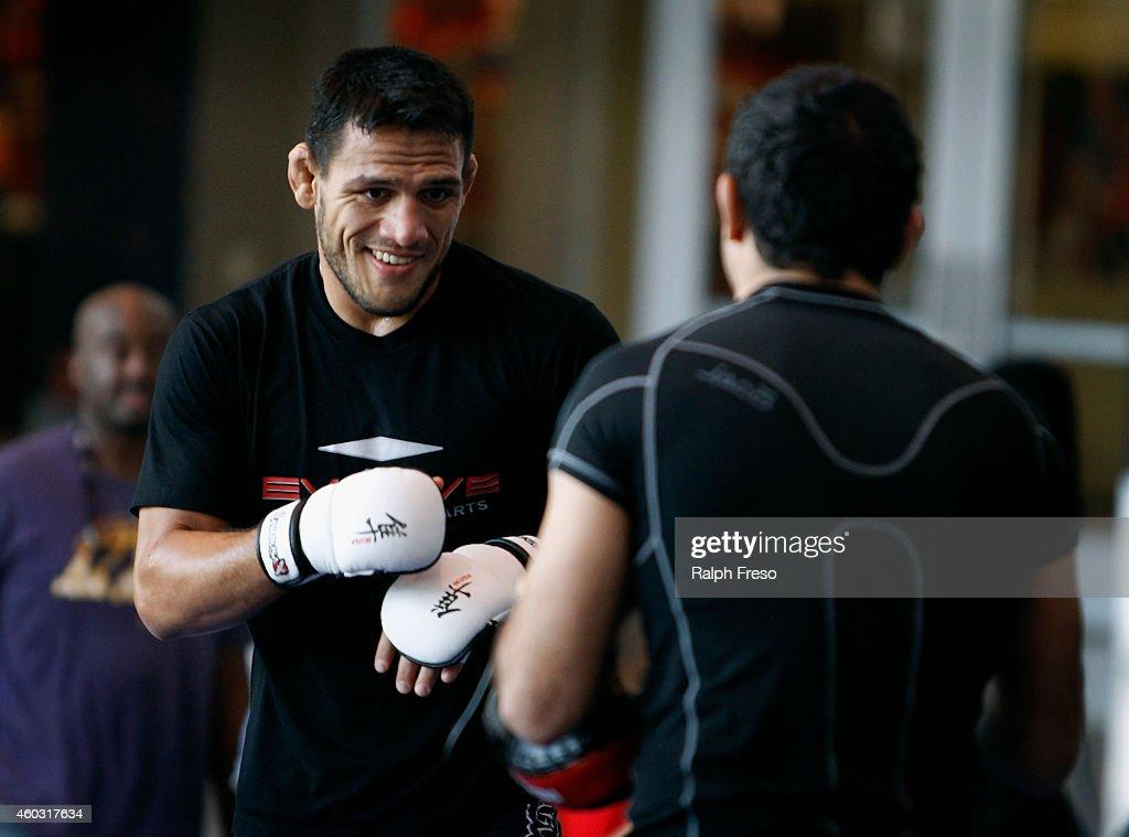 UFC Fight Night - Open Workouts