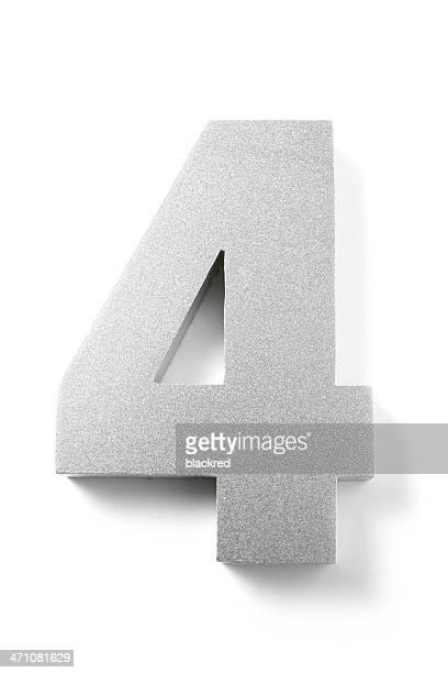 Zahl 4