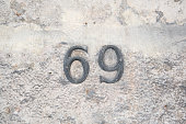 House number sixty nine.