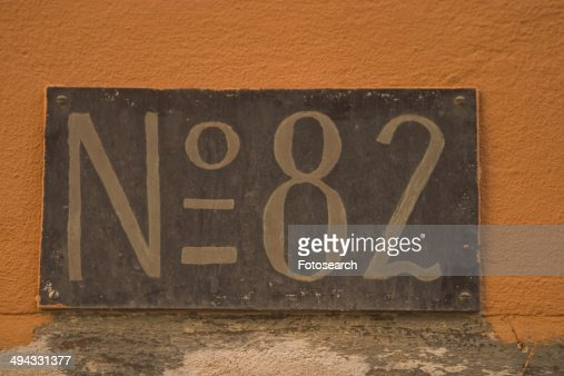 Number 82 : Stock Photo