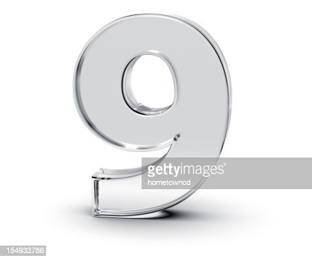 Number 9 : Stock Photo