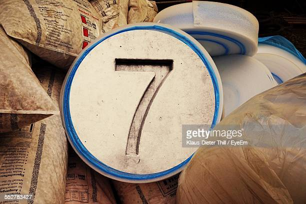 Number Amidst Construction Materials