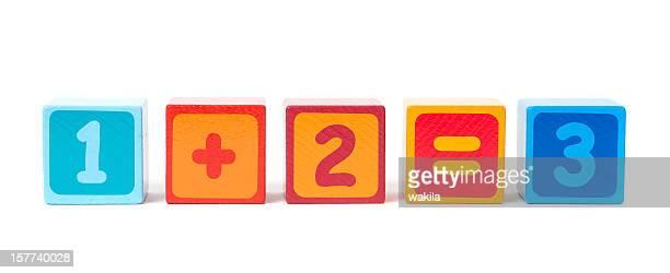 Numero astratto cubi