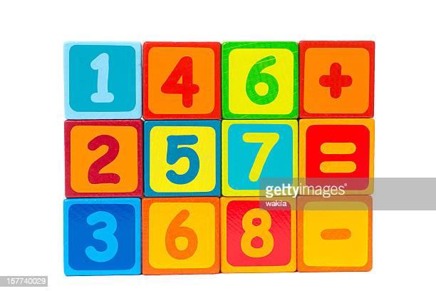 number cubes - Zahlenwürfel