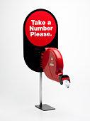 Number dispenser