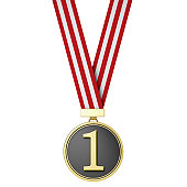 Number One - The Winner - Gold Medal