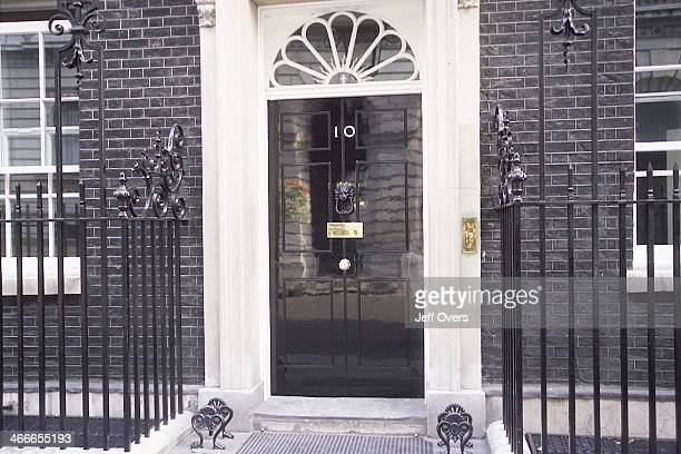 Number Ten No 10 Downing Street the official office of the British PM Prime Minister