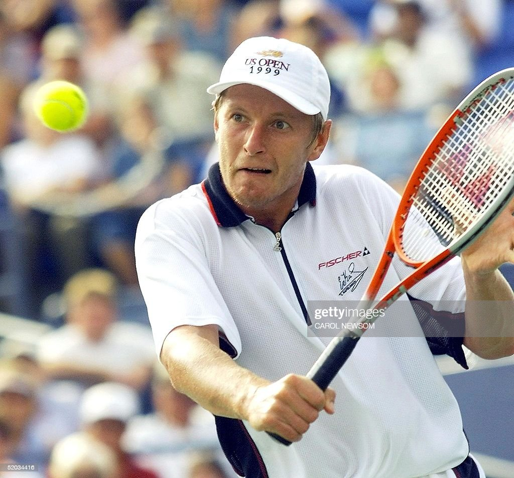 Number three seeded Yevgeny Kafelnikov of Russia