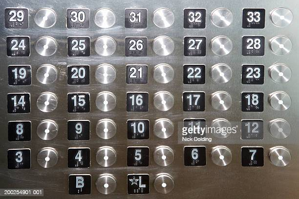 Lift Number Stock Photos And Pictures Getty Images