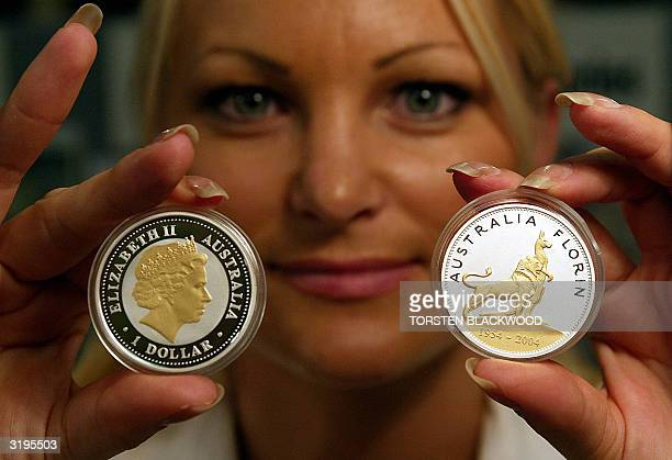 Numismatist Moana Hannaford reveals the new oneounce pure silver florin commemorating the 50th anniversary of the first visit of a reigning British...